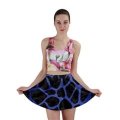 SKN1 BK-MRBL BL-BRSH (R) Mini Skirt