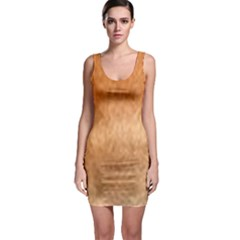 Chow Chow Eyes Sleeveless Bodycon Dress