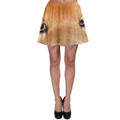 Chow Chow Eyes Skater Skirt