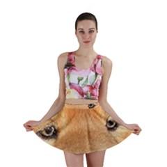 Chow Chow Eyes Mini Skirt