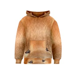Chow Chow Eyes Kids  Pullover Hoodie