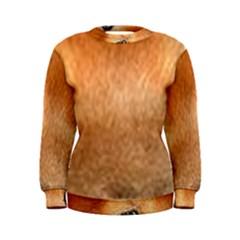 Chow Chow Eyes Women s Sweatshirt