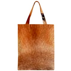 Chow Chow Eyes Zipper Classic Tote Bag