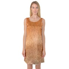 Chow Chow Eyes Sleeveless Satin Nightdress