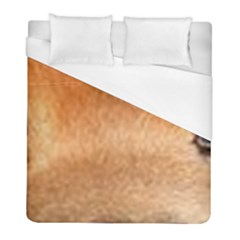 Chow Chow Eyes Duvet Cover (Full/ Double Size)