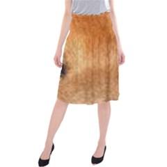 Chow Chow Eyes Midi Beach Skirt
