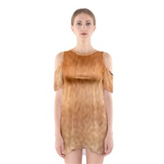 Chow Chow Eyes Shoulder Cutout One Piece