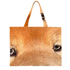 Chow Chow Eyes Large Tote Bag