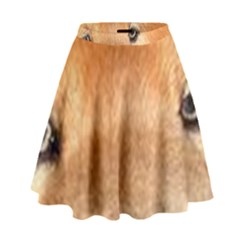 Chow Chow Eyes High Waist Skirt