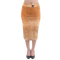 Chow Chow Eyes Midi Pencil Skirt