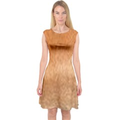 Chow Chow Eyes Capsleeve Midi Dress