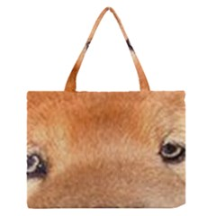 Chow Chow Eyes Medium Zipper Tote Bag