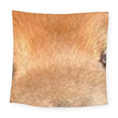 Chow Chow Eyes Square Tapestry (Large)