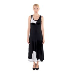 Chow Chow Silo Black Sleeveless Maxi Dress