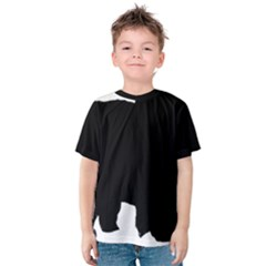 Chow Chow Silo Black Kids  Cotton Tee