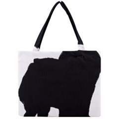 Chow Chow Silo Black Mini Tote Bag