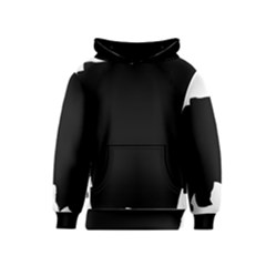 Chow Chow Silo Black Kids  Pullover Hoodie