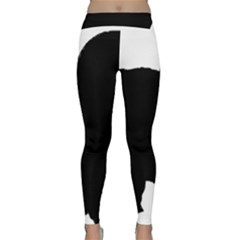 Chow Chow Silo Black Classic Yoga Leggings
