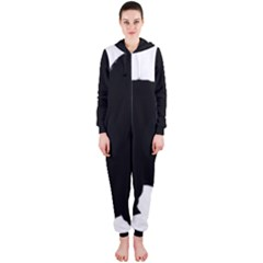 Chow Chow Silo Black Hooded Jumpsuit (Ladies)