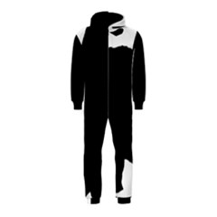 Chow Chow Silo Black Hooded Jumpsuit (Kids)