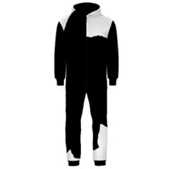 Chow Chow Silo Black Hooded Jumpsuit (Men)