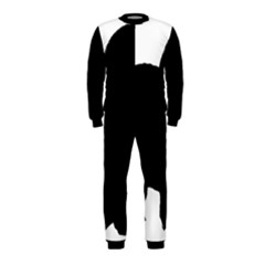 Chow Chow Silo Black OnePiece Jumpsuit (Kids)