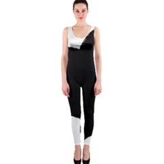 Chow Chow Silo Black OnePiece Catsuit