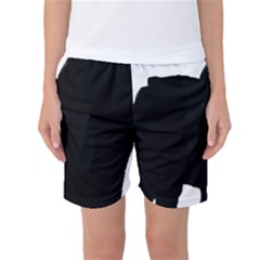 Chow Chow Silo Black Women s Basketball Shorts