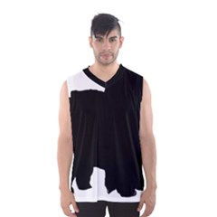 Chow Chow Silo Black Men s Basketball Tank Top