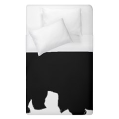 Chow Chow Silo Black Duvet Cover (Single Size)