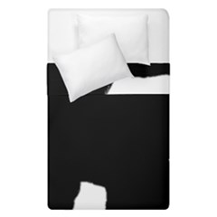 Chow Chow Silo Black Duvet Cover Double Side (Single Size)