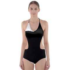 Chow Chow Silo Black Cut-Out One Piece Swimsuit
