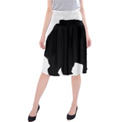 Chow Chow Silo Black Midi Beach Skirt