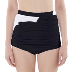 Chow Chow Silo Black High-Waisted Bikini Bottoms