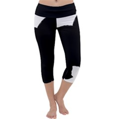 Chow Chow Silo Black Capri Yoga Leggings