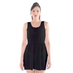 Chow Chow Silo Black Scoop Neck Skater Dress
