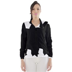 Chow Chow Silo Black Wind Breaker (Women)