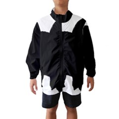 Chow Chow Silo Black Wind Breaker (Kids)