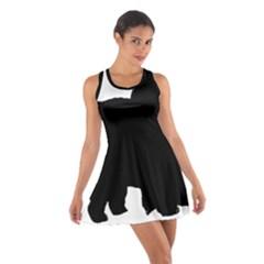 Chow Chow Silo Black Cotton Racerback Dress