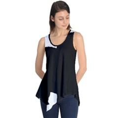 Chow Chow Silo Black Sleeveless Tunic