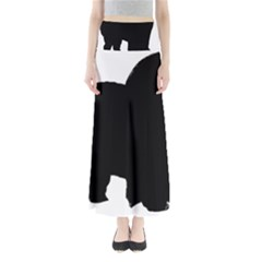 Chow Chow Silo Black Maxi Skirts
