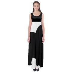 Chow Chow Silo Black Empire Waist Maxi Dress