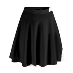 Chow Chow Silo Black High Waist Skirt