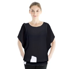 Chow Chow Silo Black Blouse