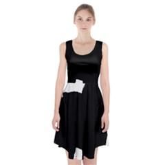 Chow Chow Silo Black Racerback Midi Dress