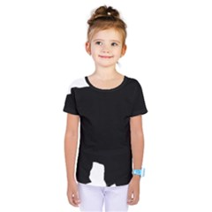 Chow Chow Silo Black Kids  One Piece Tee