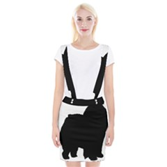 Chow Chow Silo Black Suspender Skirt