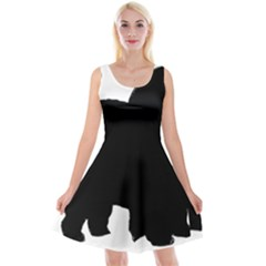Chow Chow Silo Black Reversible Velvet Sleeveless Dress