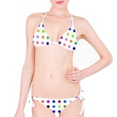 Circle Pattern  Bikini Set