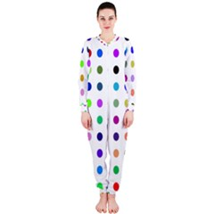 Circle Pattern  OnePiece Jumpsuit (Ladies)